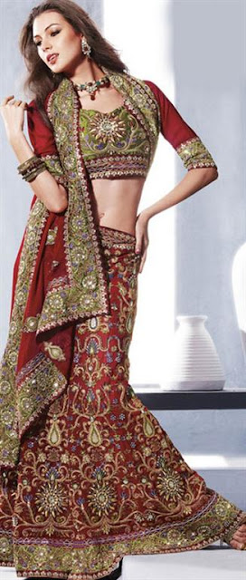 Fashion Bridal lehnga Design