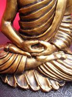 buddha amitaba statua scultura Progetto vajra perle nel tempo art gallery meditazione zen