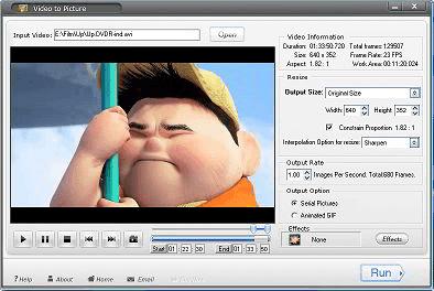 تحميل برنامج تحويل الفيديو الى صور Aoao Video to Picture Converter