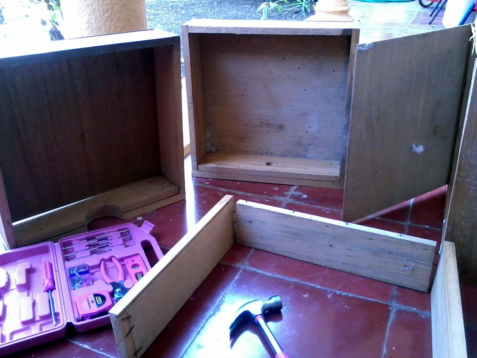 Que puedo hacer con cajones o cajoneras de madera - Cosas de madera para hacer ...