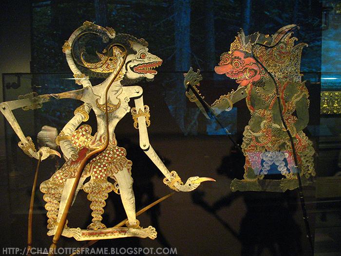 Hanoman, Prabu Dasamuka (Rawana), Wayang Kulit