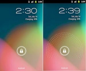 Customize Android lock screen with apps