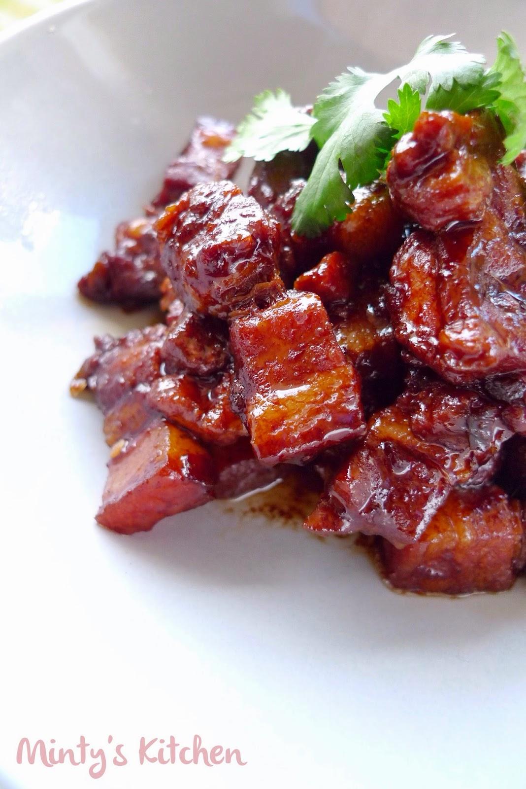 Caramelised Pork Belly