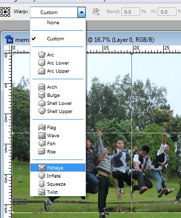 membuat+efek+fish+eye4 Cara membuat efek fish eye dengan photoshop