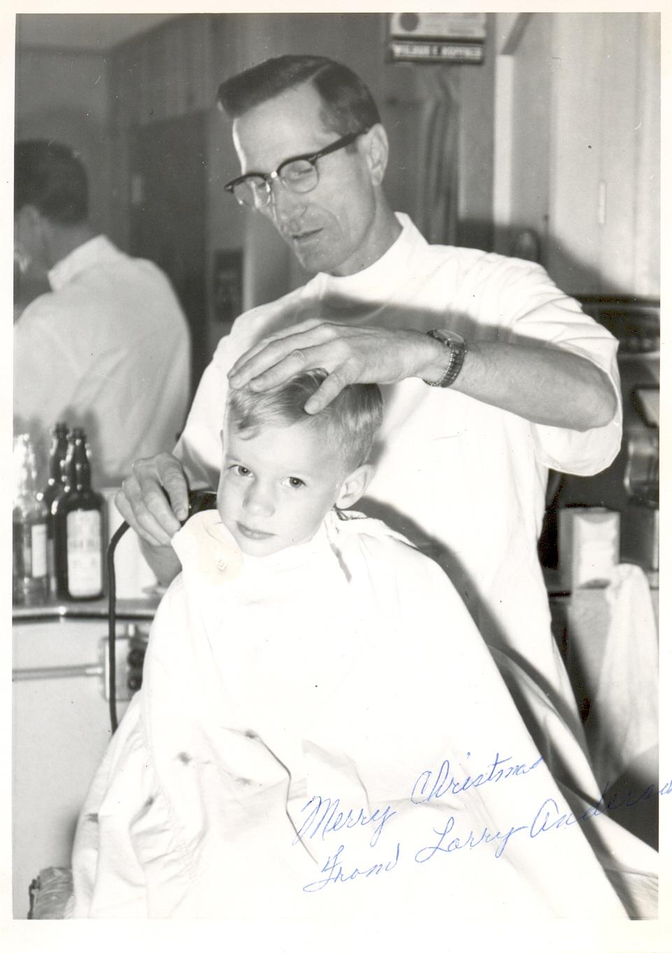 Brandon Mn History Center: Wilbur Hopfner Barber Shop Brandon MN