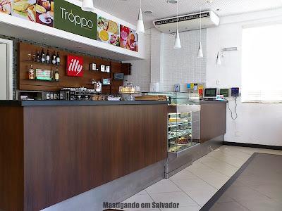 Troppo Spazio Gourmet: Ambiente da loja da Pituba