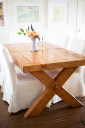 Our Cameron Made Farm Table and thoughts on eating together