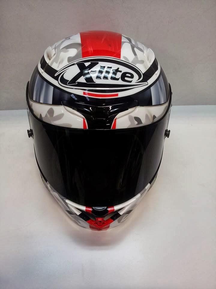 racing helmets garage x lite x 802r j guarnoni 2014 by. Black Bedroom Furniture Sets. Home Design Ideas