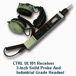 Kiểm tra rò rỉ bình ngưng với thiết bị siêu âm UL 101