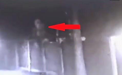 extraterrestre fantasma grabado en Rusia 2014