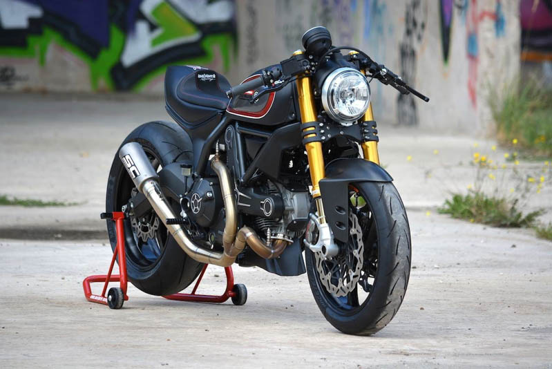 Ducati Monster Bar End Mirrors