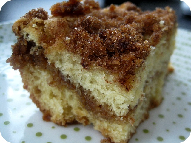 Amy, Actually: Sour Cream Coffee Cake