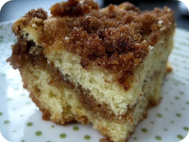 Sour Cream Coffee Cake Recipe — Dishmaps