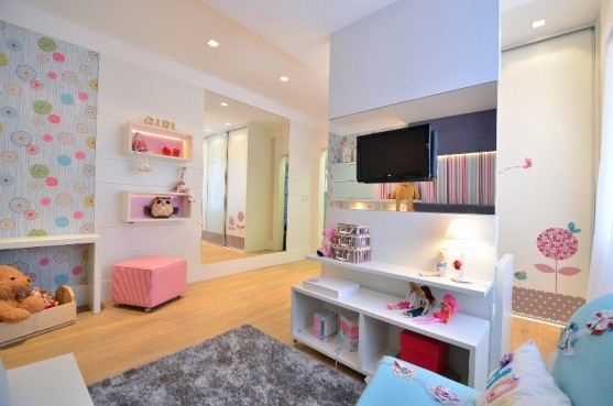 Habitaci n moderna para una ni a quarto da menina - Decoracion habitacion moderna ...
