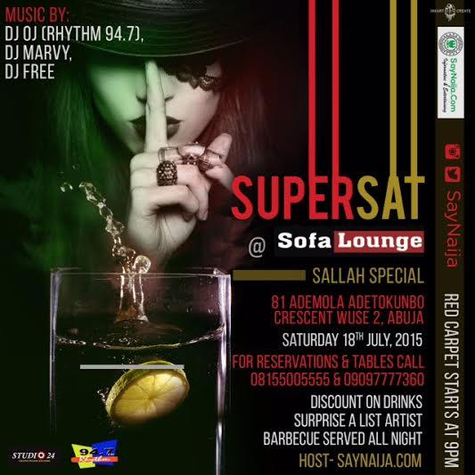 Supasat At Sofa Lounge Abuja By Saynaija Com Kaduna Yellowpages