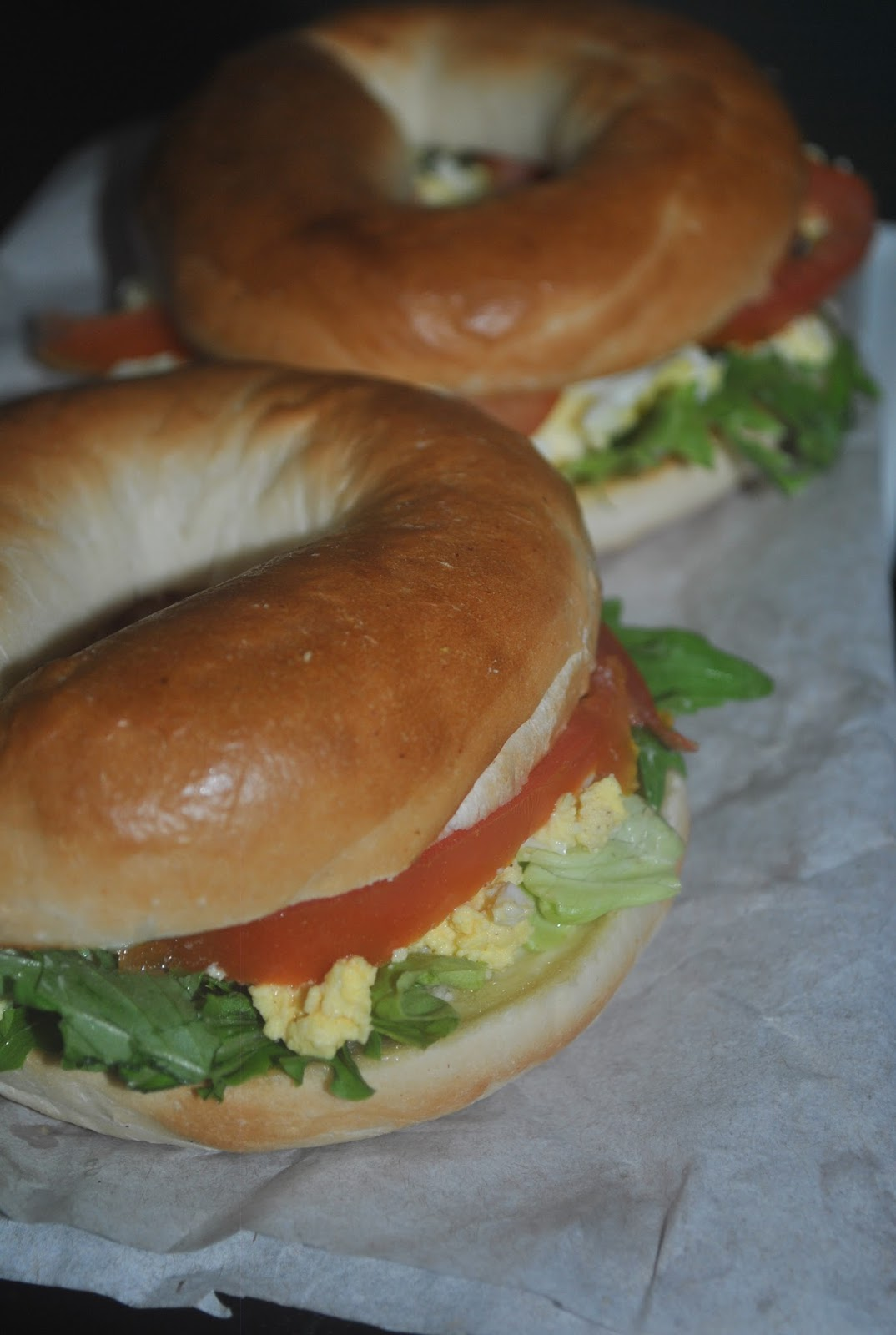 PATYSKITCHEN: EGG BAGEL SANDWICH