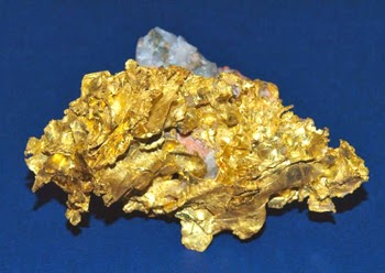 Sample of high grade gold. picture of a nugget from NL