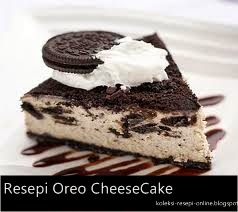 Resepi Kek Oreo Cheese Oreo Cheesecake recipe