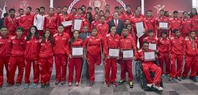 Entrega gobernador Javier Duarte Premio Estatal del Deporte 2014