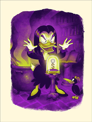 Mondo Ducktales Screen Print Series  - Magica De Spell Standard Edition by Phantom City Creative