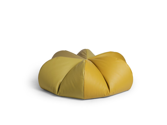 Leather Beanbag Pomme