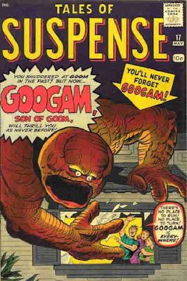 Tales of Suspense #17, Googam, son of Goom