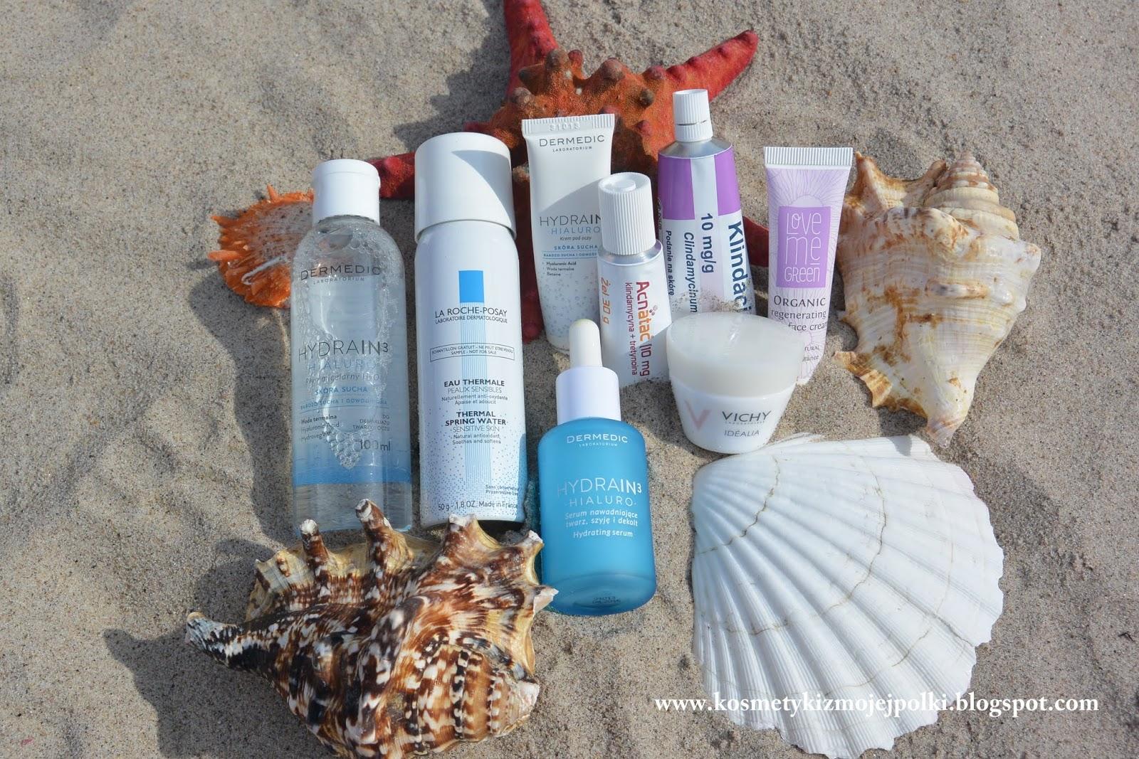 Moja Wakacyjna Nadmorska Kosmetyczka Sierpień 2014