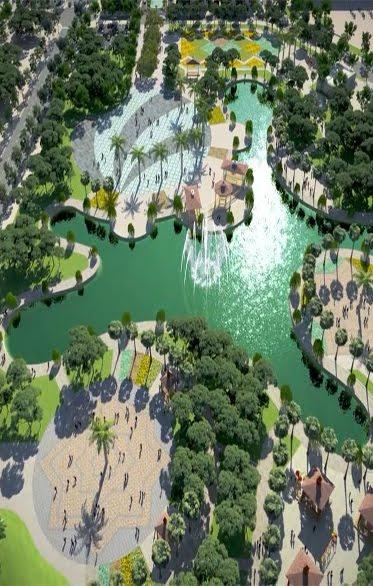 Công viên 15ha