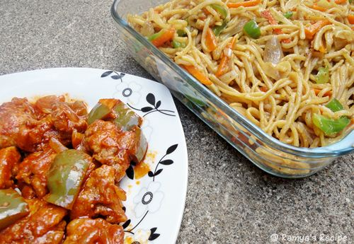 Ramyas recipe veg noodles and chilly chicken veg noodles and chilly chicken forumfinder Gallery
