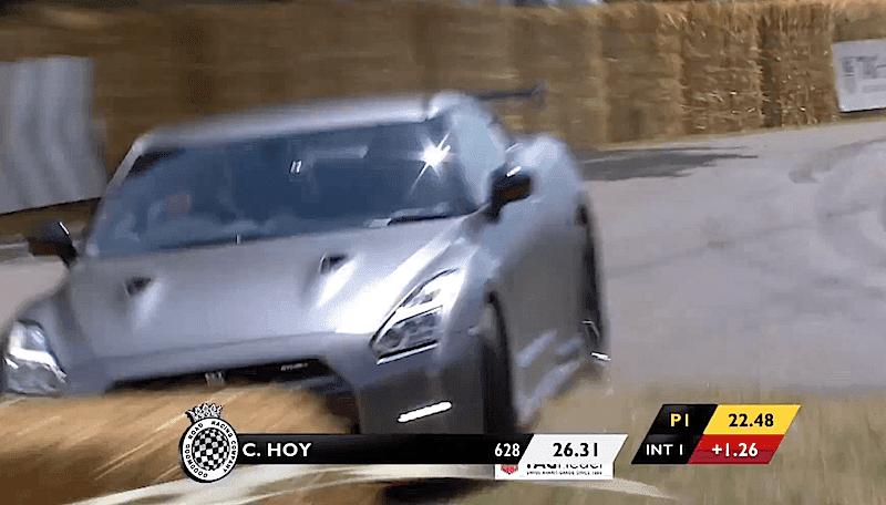 【動画】グッドウッドでアルファロメオ4Cに続き「日産GT-R Nismo」もクラッシュ