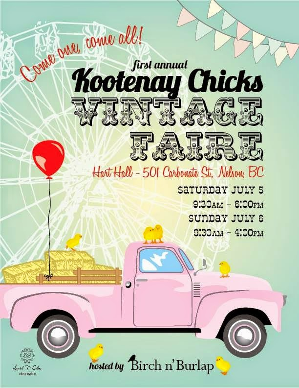 Kootenay Chicks Vintage Faire
