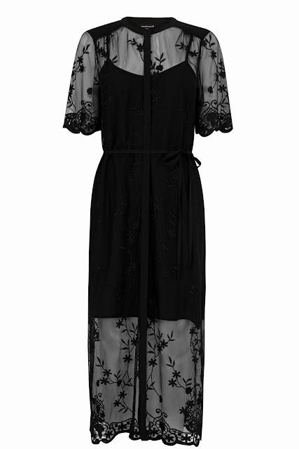 warehouse black dress