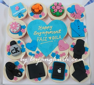 Cupcakes Hantaran