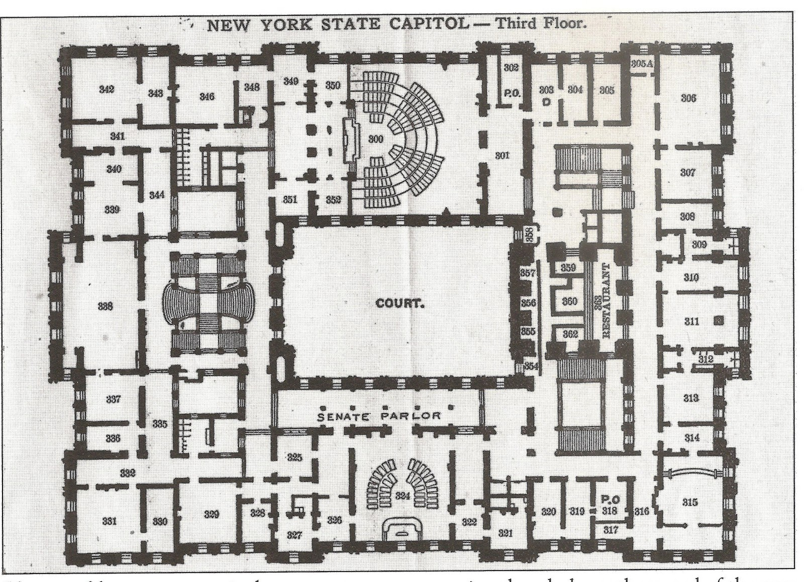 Stevenwarran new york state capitol floor plans Million dollar home plans