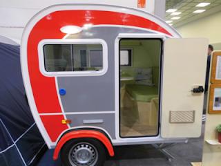 Pino2010 - ein trendiger Mini-Wohnwagen von pinocaravan
