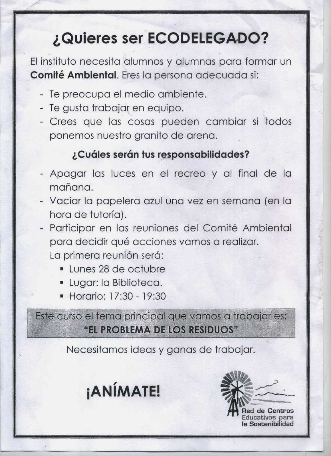 REDECOS EN EL INSTITUTO