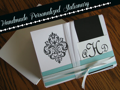 Handmade Personalized Wedding Stationary