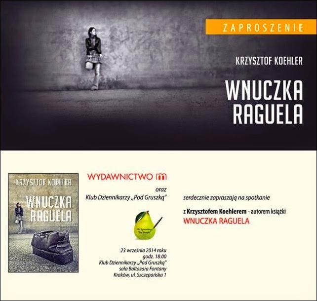 """Spotkanie z autorem książki """"Wnuczka Raguela"""""""