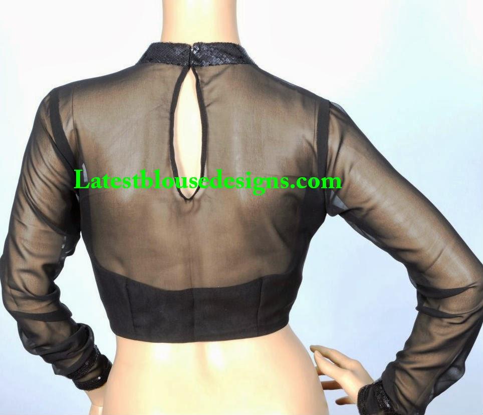 blouse neck styles