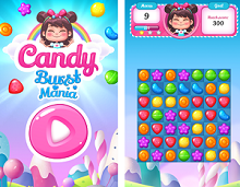 Puzzle Game of the Week - Candy Burst Mania