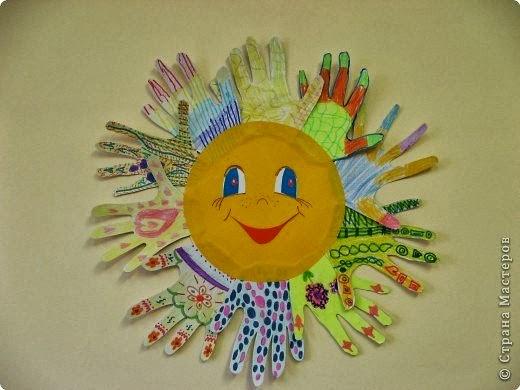 Поделка солнце мира