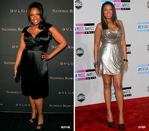 Jennifer Hudson Before/After