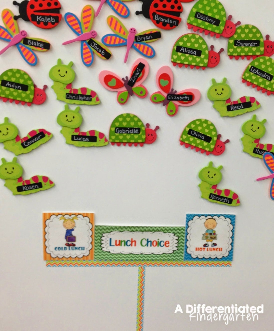 This blog post has daily schedules for a kindergarten classroom