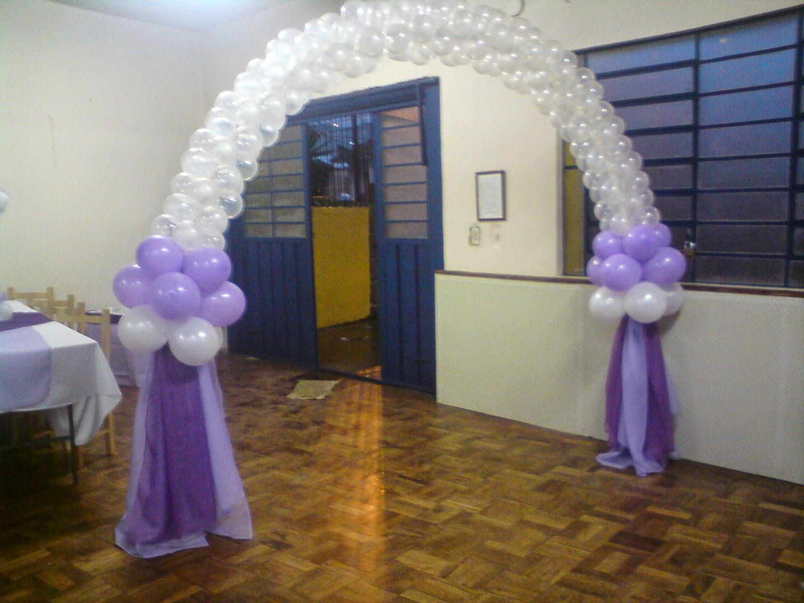 ED FESTAS DECORA u00c7ÃO DE CASAMENTO COM BAL u00d5ES -> Decoração Balões Casamento