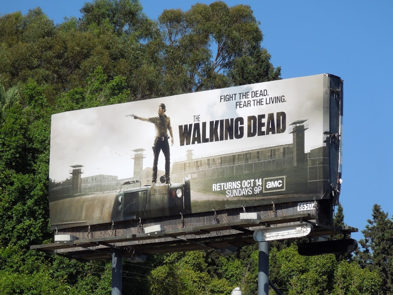 Walking Dead season 3 billboard