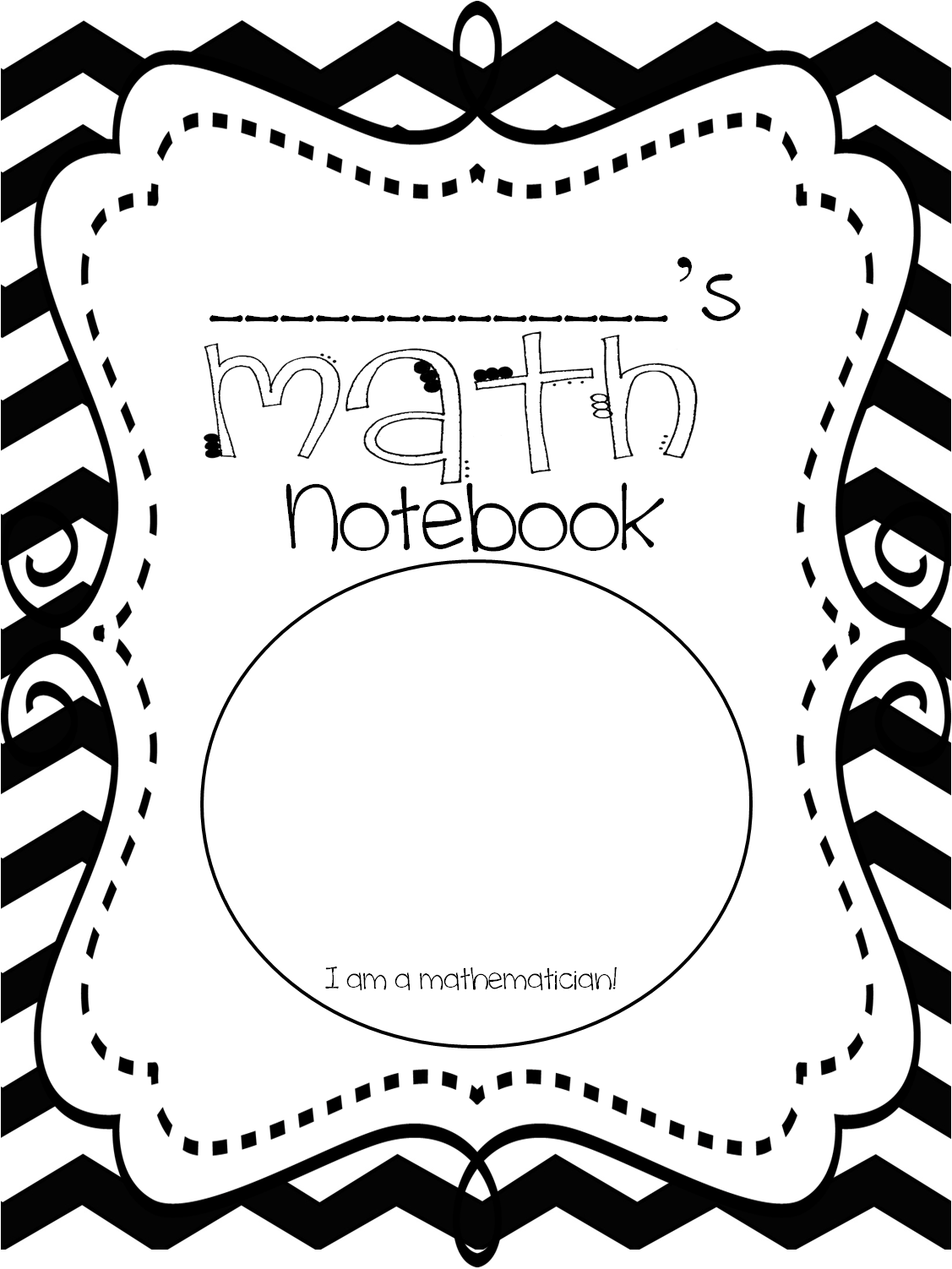 Kids Maths Book Cover : First grade wow math notebooking