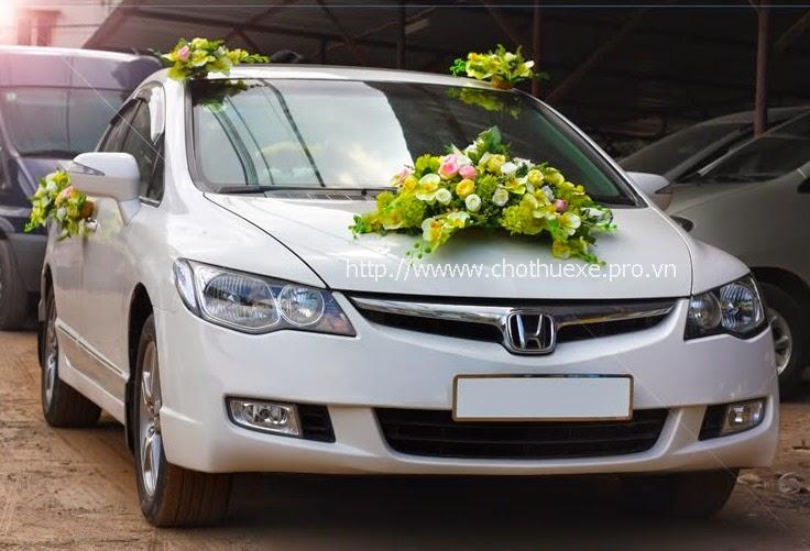 Cho thuê xe cưới Honda Civic