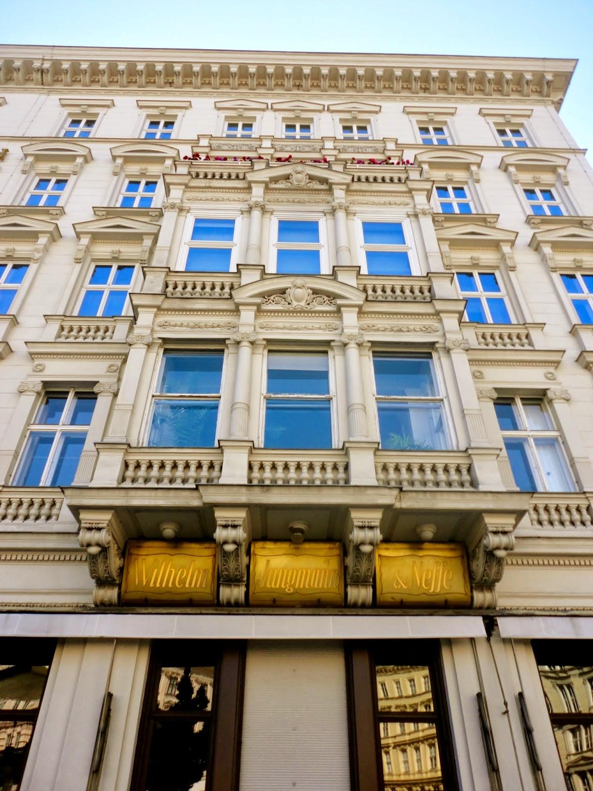 Building exterior, Vienna, Austria