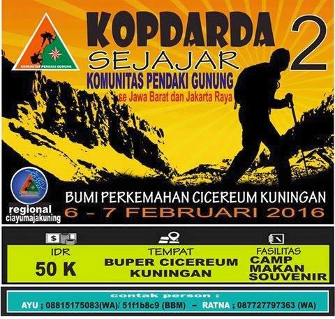 Tata Cara \u201cPengadaan KOPDAR\u201d Komunitas Pendaki Gunung  Komunitas Pendaki Gunung