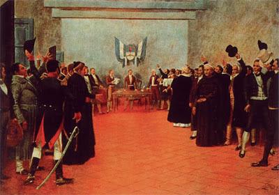 Congreso de Tucumán en Argentina Obra de Francisco Fortuny español